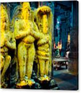 Meenakshi Temple Madurai India Canvas Print