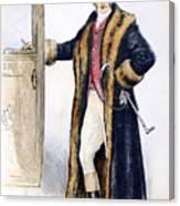 Mens Fashion, 1894 Canvas Print