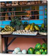 Mercado Ataco Canvas Print