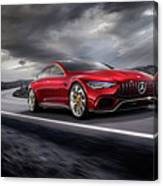 Mercedes A M G   G T Canvas Print