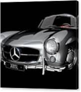 Mercedes-benz 300sl Canvas Print