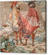 Mercy - David Spareth Saul's Life Canvas Print