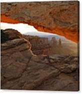 Mesa Arch Sunrise - D003097 Canvas Print