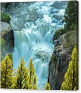 Mesa Falls - Yellowstone Canvas Print