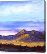 Mesa Sunset Canvas Print