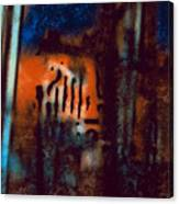 Message 3 Canvas Print