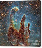Messier 16, The Eagle Nebula In Serpens Canvas Print