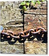 Metal Chain Canvas Print