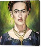 Mi Bella Frida Canvas Print