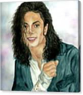 Michael Jackson - Will You Be There Canvas Print