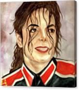 Michael Jackson - You Are My Life Canvas Print