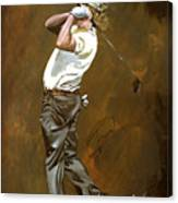 Miguel Angel Jimenez Canvas Print