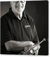 Mike Vax Professional Trumpet Player Photographic Print 3771.02 Canvas Print