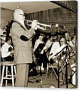 Mike Vax Professional Trumpet Player Photographic Print 3772.02 Canvas Print