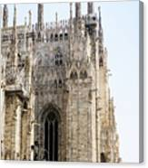 Milan Cathedra, Domm De Milan Is The Cathedral Church, Italy Canvas Print