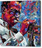 Miles Davis Canvas Print