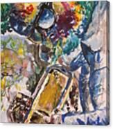 Miles Davis Jazz Canvas Print