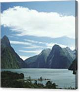 Milford Sound Canvas Print