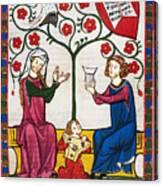 Minnesinger Lieder Canvas Print