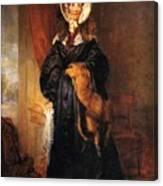 Miss Mary Kirkpatrick Brunton Canvas Print