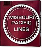 Missouri Pacific Lines Canvas Print