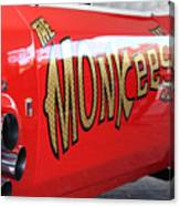 Monkeemobile Canvas Print