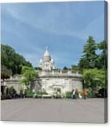 Montmarte Paris Sacre-coeur Canvas Print