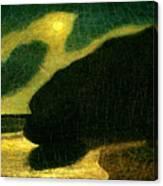 Moonlit Cove Canvas Print