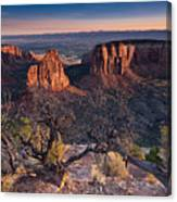 Morning At Colorado National Monument Canvas Print