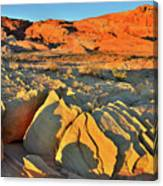 Morning Comes To Valley Of Fire Canvas Print
