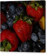 Morning Fruit Canvas Print