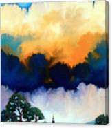 Morning In The Hill Country Canvas Print