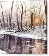 Morning On Monocacy Canvas Print