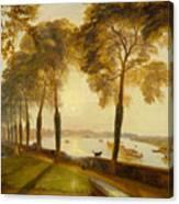 Mortlake Terrace Canvas Print