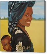 Mother And Child Canvas Print