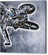 Motocross  Canvas Print