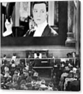 Movie Theater, 1920s Canvas Print