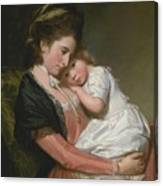 Mrs Johnstone And Her Son Canvas Print