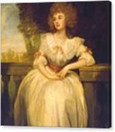 Mrs Mark Currie Canvas Print