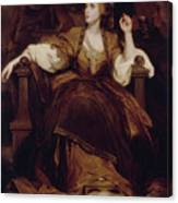 Mrs. Siddons As The Tragic Muse Canvas Print