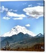Mt Rainier Washington Canvas Print