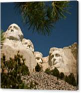 Mt Rushmore II Canvas Print