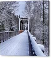 Munger Trail Bridge Canvas Print