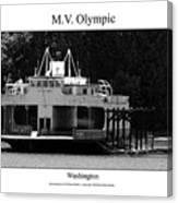 Mv Olympic Canvas Print