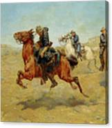 My Bunkie, 1899 Canvas Print