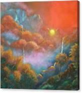 Mystic Sunrise Canvas Print