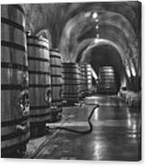 Napa Valley Wine Cellar Canvas Print