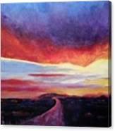 Narrow Road To Life Canvas Print
