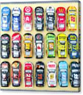 Nascar Collection Canvas Print