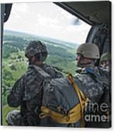 National Guard Special Forces Await Canvas Print